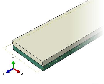 مقطع از نوع Solid, Homogeneous در آباکوس