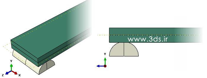 مدلسازی کلید bimetal (بی متال-دوفلز) در آباکوس
