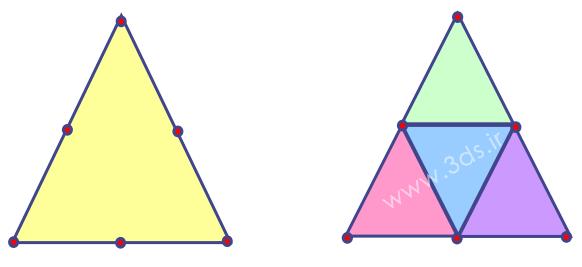 المان مثلثی درجه دو (LST)