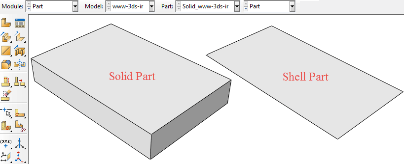 نحوه استفاده از قید Shell-To-Solid Coupling در آباکوس