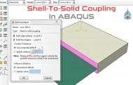 آموزش اتصال Shell و Solid در آباکوس