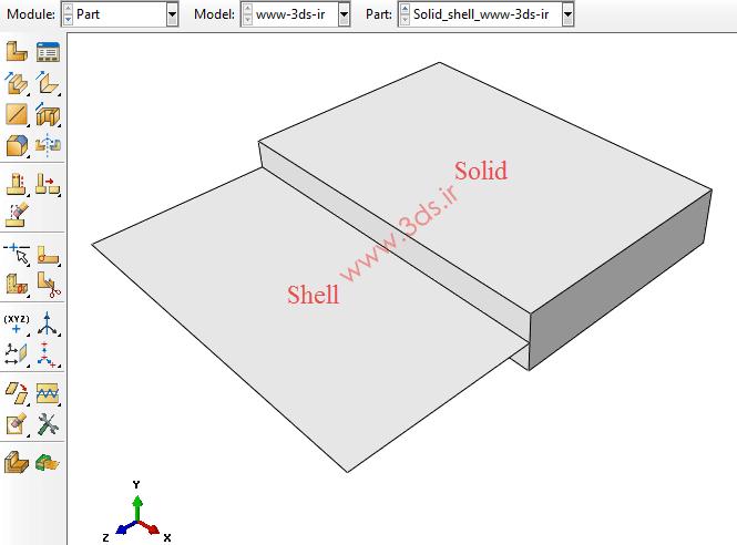 قید Shell-To-Solid Coupling در آباکوس