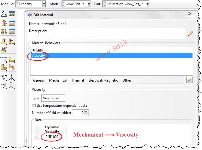 خواص مکانیکی مربوط به خون (چگالی، ویسکوزیته)