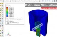 تحلیل فرآیند اکستروژن در آباکوس:آنالیز کوپل حرارتی-مکانیکی