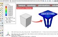 آموزش طراحی بهینه چهارپایه توسط ماژول Optimization آباکوس