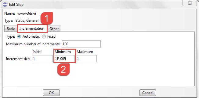 رفع خطای Time increment required is less than minimum specified در آباکوس