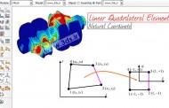 المان مربعی خطی : دستگاه مختصات طبیعی