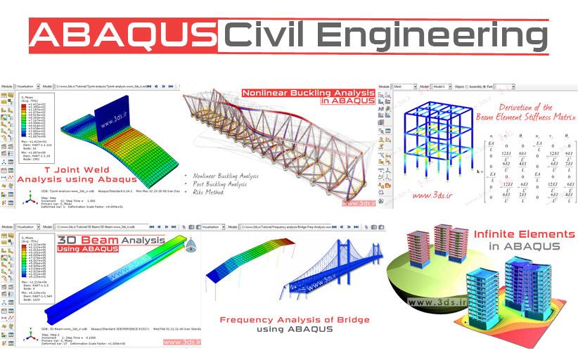 آموزش آباکوس ویژه مهندسی عمران