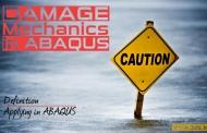تعریف Damage در آباکوس - مکانیک آسیب در Abaqus