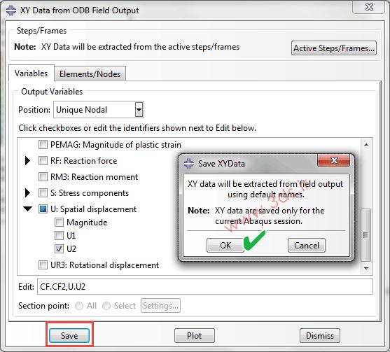 استخراج داده توسط ODB Field Output در آباکوس