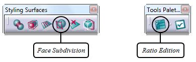 ابزار Face Subdivision در محیط Imagine and Shape نرمافزار کتیا