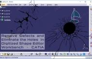 حذف عیوب مش ابر نقاط در محیط Digitized Shape Editor نرمافزار کتیا
