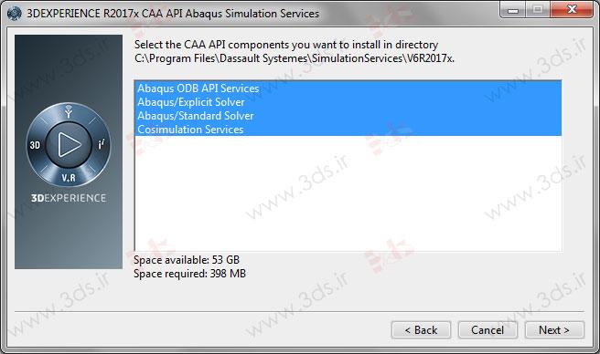 نحوه نصب CAA API نرم افزار آباکوس