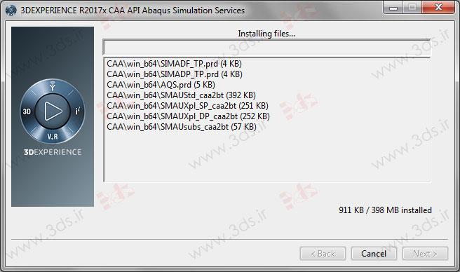 نحوه نصب CAA API نرمافزار abaqus 2017