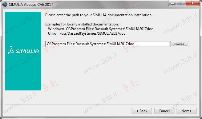 تنظیمات Documentation در آباکوس