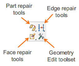 ترمیم هندسه فایل CAD در آباکوس