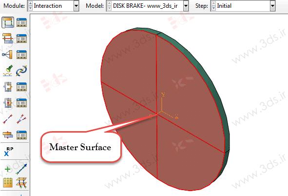 نحوه تعریف تماس Surface-to-Surface در آباکوس