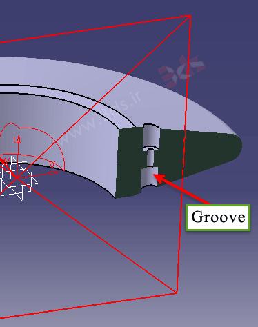 نحوه استفاده از ابزار Groove کتیا
