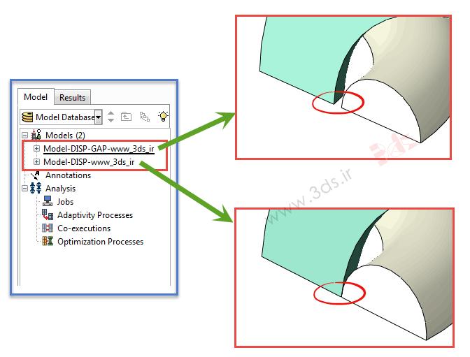 تکنیکهای حل مسائل تماس در آباکوس