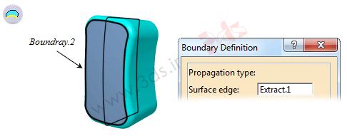 ابزار Boundary کتیا