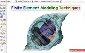 تکنیکهای مدلسازی اجزا محدود