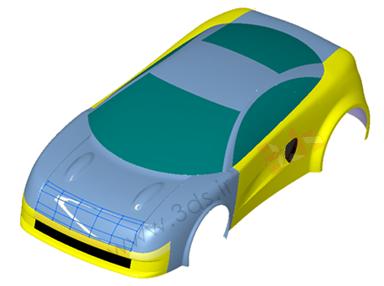 تمرین کتیا؛ طراحی بدنه خودرو