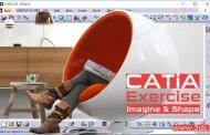 تمرین محیط Imagine & Shape نرمافزار کتیا - صندلی توپی