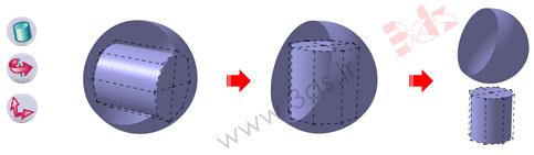 استفاده از ابزار Cylinder در محیط Imagine & Shape نرمافزار کتیا