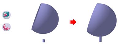 استفاده از دستور Cylinder نرمافزار کتیا