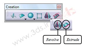آموزش ابزار Revolve در محیط Imagine & Shape نرمافزار کتیا