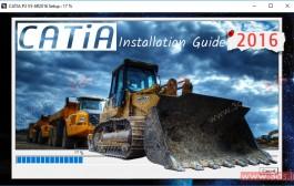 آموزش نصب نرمافزار CATIA V5-6R2016 روی ویندوز 10، 8.1 و 7 + لایسنس