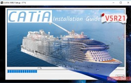 دانلود و آموزش نصب نرمافزار کتیا CATIA V5R21 + لایسنس