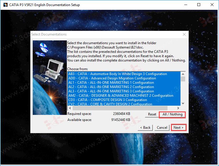 آموزش نصب help نرمافزار v5r21
