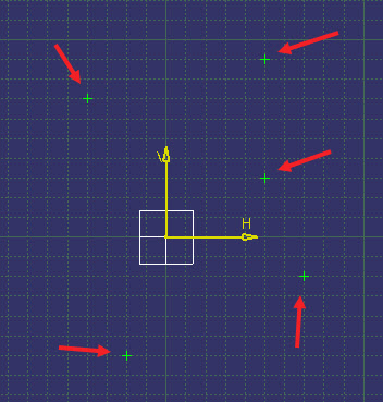 ترسیم بهترین دایره گذرنده از چند نقطه با استفاده از نرمافزار CATIA