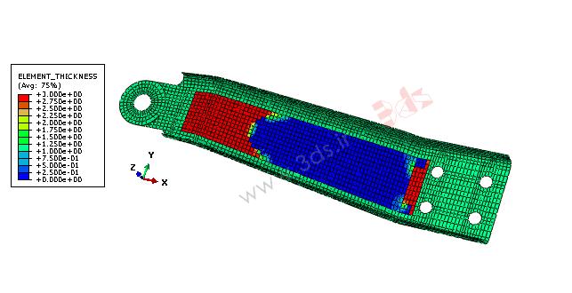 بهینهسازی سایز یا Sizing optimization در آباکوس