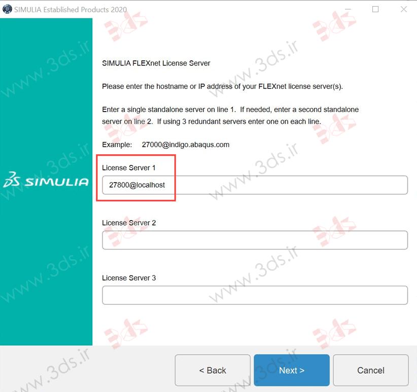 آموزش نصب آباکوس 2020: License Server