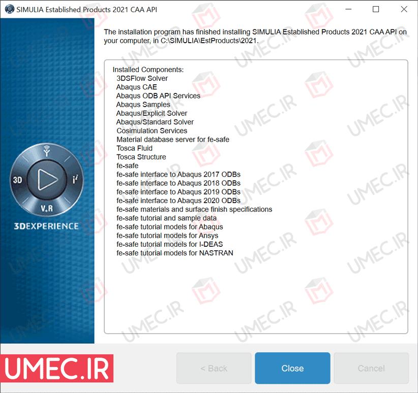 آموزش تصویری نصب آباکوس نسخه 2021